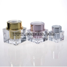 Square Shape Acrylic Cosmetic Package JA58